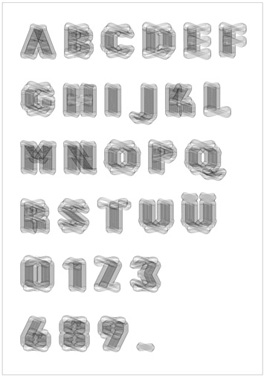 Fonts for the tick by Jian Xu Klasse Hesse