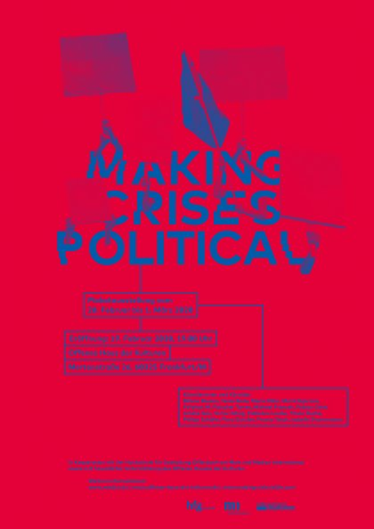 Making Crisis Visible Prof. Klaus Hesse