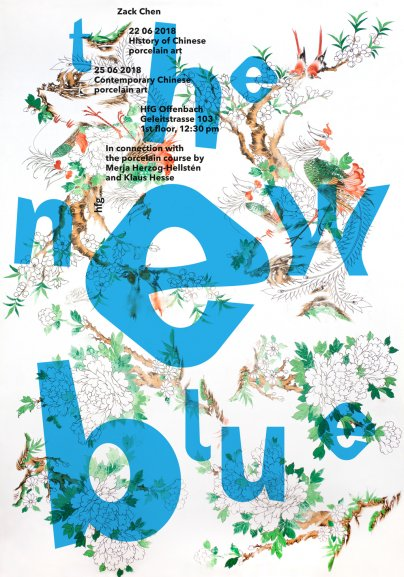 The New Blue, Lectures of Zack Chen by Prof. Klaus Hesse and Merja Herzog-Hellsten